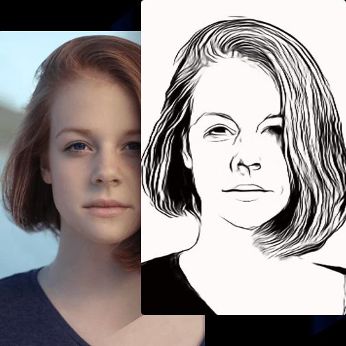 Transformer une photo en dessin au crayon avec Vance AI Convertisseur Sketch